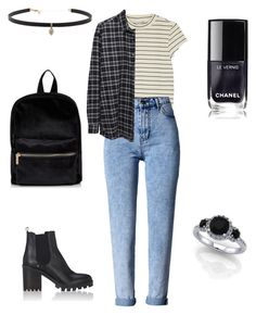 Unbenannt #22 by indiebitch on Polyvore featuring polyvore, moda, style, 6397, Monki, WithChic, Barneys New York, Carbon & Hyde, fashion and clothing