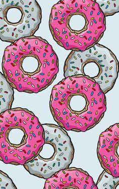 Donuts Art Print by Fin3e   Society6