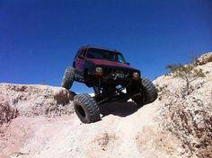 Jeep XJ Flex!