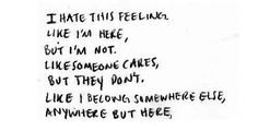 The Personal Quotes - Love Quotes , Life Quotes Tumblr Quotes, Me Quotes, Word Pictures, Liking Someone, Social Anxiety, Favim, Story Of My Life, Love Words, Fibromyalgia
