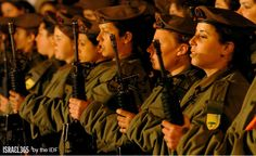 """Mighty in the Land"" ✡ IDF Women Heroes"