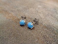 Hey, I found this really awesome Etsy listing at https://www.etsy.com/listing/207076002/turquoise-studs-earrings-blue-turquoise