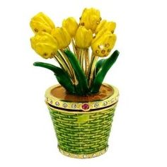 Tulips Trinket Box