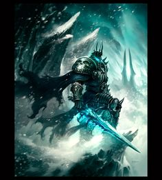 Portrait Phroilan Gardner The Lich King.