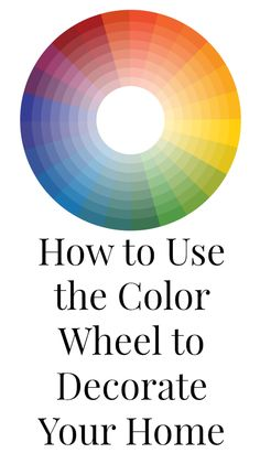 Learn how to use the color wheel to pick the perfect color palette for your home.