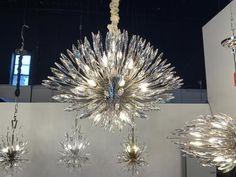 Designer Inspired lighting and home decor up to off. Sputnik Chandelier, Modern Chandelier, Chandeliers, Fine Art Lighting, Closet Organization, Organizing, Polished Nickel, Lily, Design Inspiration