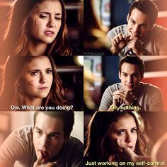 "#TVD 6x11 ""Woke Up With a Monster"" - Elena and Kai"