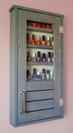 Ana White | Nail Polish Cabinet - DIY Projects