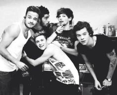 one direction #od #1d #bw black and white