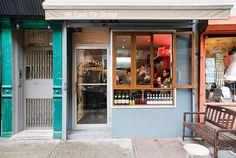 Abraco. Lower East Side, Manhattan, NY. It's a tiny little storefront, but man, are their drinks good. #coffee