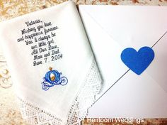 To Bride from parents FREE matching gift by HeirloomWeddings, $30.00