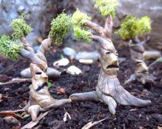 Arbre gênant... Fée maison Miniature un arbre Terrarium accessoires fée jardin maison Miniature arbre fantaisie en argile arbres Decor Terrarium