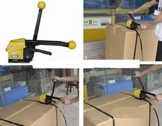 (825.36$)  Buy here  - 4PCS  Manual steel strapping Packing tool Steel Strapping Bander A333 handheld packaging equipment portable packer