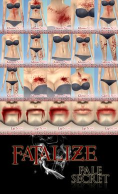 Fatalize~ Fighting Blood + ScarsHey guys, we're back with a brand new set of TS4 blood for your sims! The download includes 4 files, which are all for all ages and genders… • One face detail package...