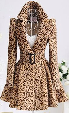 OMG! ♥ VS has a similar coat I've wanted for some time now... but this one looks even nicer! WANT!! NEED!!
