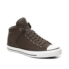 cb47684c2d93d5 Converse Chuck Taylor All Star Street Leather High-Top Sneaker - Mens