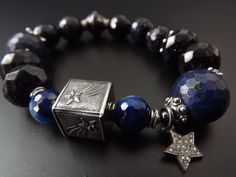 Bracelet with Anne Choi falling stars bead