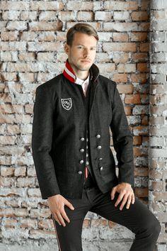 Blazer, Jackets, Fashion, Men, Mandarin Collar, Model, Down Jackets, Moda