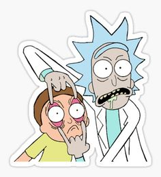 Rick & Morty Sticker
