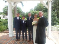 I officiated the wedding of Adrian Hackett and Nicola Jones at Cypress Grove Estate House.  The couple resides in the county of Durham, England.