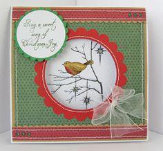 Sunny Summer Crafts: Christmas Card Club #5: Colour on Kraft