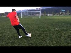 How to Shoot a Soccer Ball With Power - YouTube