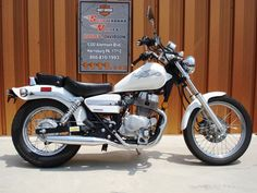 A Honda Rebel 250 - I took my MC riders class & test on one of these...felt comfy with it...I think it's enough for me??