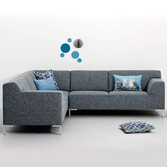 Home And Living, Living Room, Cole And Son, Sofas, Interior Decorating, Sweet Home, New Homes, Couch, Inspiration