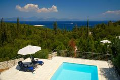 Surrounded by immaculate gardens and ancient olive trees Roberto is a haven of oasis-like tranquillity. Cypress Trees, Beautiful Villas, Crystal Clear Water, Oasis, Terrace, Swimming Pools, Flow, Gardens, Sea
