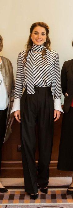 Queen Rania at the Teacher Skills Forum 2017 Amman, Jordan/ March 25, 2017