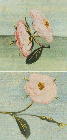 Flowers details from The Birth of Venus ca. Sandro Botticelli Paintings, Venus Roses, Venus Painting, Venus Tattoo, The Birth Of Venus, Historical Art, Painting Wallpaper, Victorian Art, Classical Art