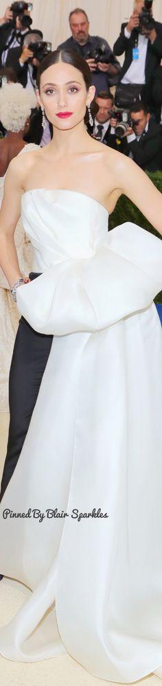Emmy Rossum at Met Gala 2017 ♕♚εїз | BLAIR SPARKLES |