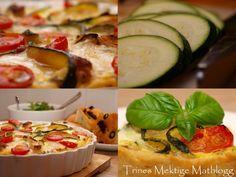 Kyllingpai med mozzarella og middelhavsgrønnsaker - TRINEs MATBLOGG
