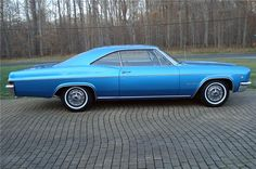 1966 CHEVROLET IMPALA SS 2 DOOR COUPE - Side Profile - 116436