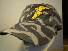 GOODYEAR Tires Hat Cap Ltd Ed CAMO Cotton Hunting NEW Velcro Back Shoe with  Wing Goodyear 090cc547e804