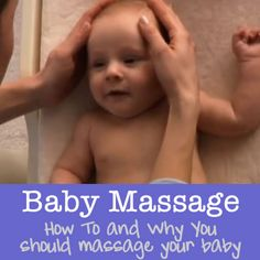 ive done massages for william since he was a babe he loves them an he falls asleep so calmly Baby Massage - How to and Why you need to massage your baby