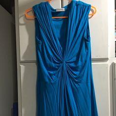 Calvin Klein sleeveless dress  Size 8 gently worn Calvin Klein dress Calvin Klein Dresses Midi