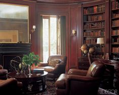 To me, home office's are traditional! ElleDecor.com