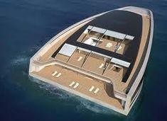 En forma de barco