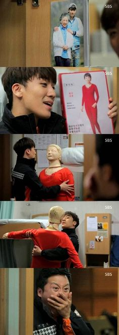 Seungri mistaken to be a pervert in a hilarious mannequin scene on 'Angel Eyes' | http://www.allkpop.com/article/2014/04/seungri-mistaken-to-be-a-pervert-in-a-hilarious-mannequin-scene-on-angel-eyes