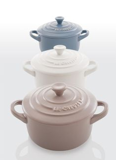 Le Creuset's newest matte collection