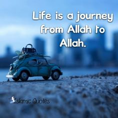 To Allah we belong and to Him we shall return.