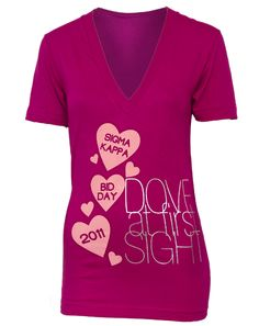 It really was Dove at first sight <3   @Sigma Kappa