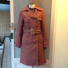1970's vintage tweed wool coat