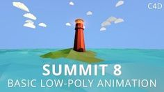 Summit 8 - Basic Low-Poly Animation This video is for basic users of and an introduction to low-poly animation. Cinema 4d Tutorial, 3d Tutorial, Low Poly, Vray For C4d, After Effect Tutorial, Free Education, Motion Graphics, Illustration, Animation