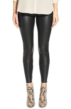 Lyssé High Waist Faux Leather Leggings available at #Nordstrom
