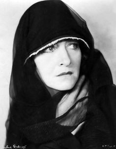 """Pauline Frederick in a lost film, """"On Trial"""" (1928)"""