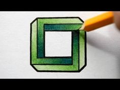 How to draw an Impossible Square - Optical illusion. Join me on Facebook! https://www.facebook.com/Jonathan.Stephen.Harris Music details below: Presenterator Kevin MacLeod (incompetech.com) Licensed under Creative Commons: By Attribution 3.0 http://creativecommons.org/licenses/by/3.0/