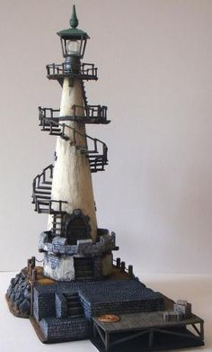 As a young child, I had always wanted to live in a Lighthouse! Perhaps, I should just create one that could now 'house' my imagination. Clay Pot Lighthouse, Lighthouse Decor, Clay Pot Projects, Clay Pot Crafts, Lighthouse Pictures, Driftwood Art, Beach Crafts, Stone Houses, Miniature Houses