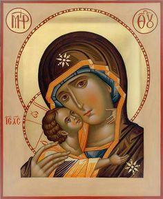 Icon of the Theotokos - Tender Mercy